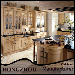 2015 Solid Wood Cheap Antique Kitchen Cabinet For Sale