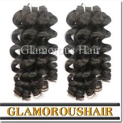 Wholesale price 100% human hair weft pure brazilian bouncy curl human hair weaving
