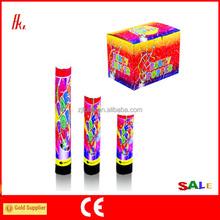 Factory price small mini party cannon confetti popper(FAS-5087)