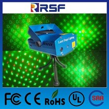 4 in 1 Green and Red Lights MINI Laser Stage Lighting