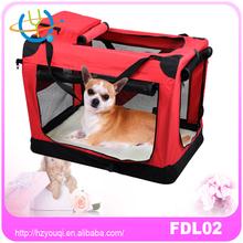 pet carrier soft sided large cat/dog comfort travel bag airline approved