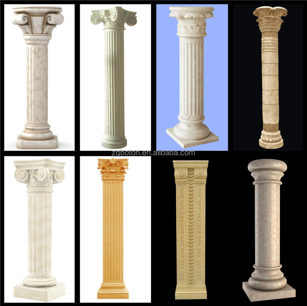 Wooden Pillars Designs : Stone house pillars designs buy high quality