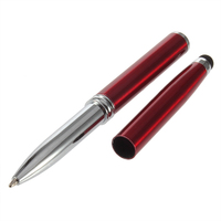 Metal Touch Pen Stylus 4 in1 Laser Pointer LED Torch Touch Screen Stylus Ball Pen Touch for Mobile Phone