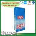 Vente en gros blanc kraft des équipements de pointe en bas carrés crème de tartre/poudre à pâte de farine sac de papier