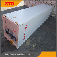 Heavy duty New 40ft HC carrier Reefer Container for sale