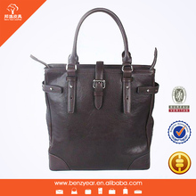 leather satchel briefcase top fashionable office soft briefcase for men