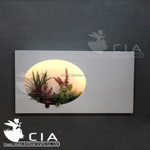 Living wall Art Artificial Succulents Artificial Plants Wall Hanging Picture for Sell