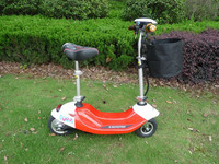SHUKEDA 2015 NEW ARRIVAL BRUSHLESS 24V 350W LITHIUM ELECTRIC SCOOTER WITH HUB MOTOR