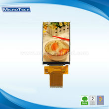 with capacitive touch screen 3.5 inch 320X480 pixel MCU Transparent lcd