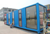 ISO standard sea shipping container house / durable comfortable container home ( factory )