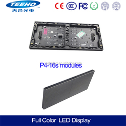 Factory Direct Ph 4mm Full Color LED Modules for LED Advertising Board with CE, RoHS , FCC certificates