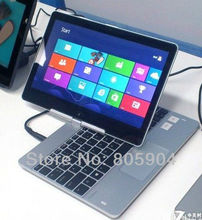 """Rotatable 11.6"""" Win8 Notebook Laptop Intel Celeron 1037U 1.8GHz Dual-core Camera 2.0M HDMI (R116 Celeron)"""