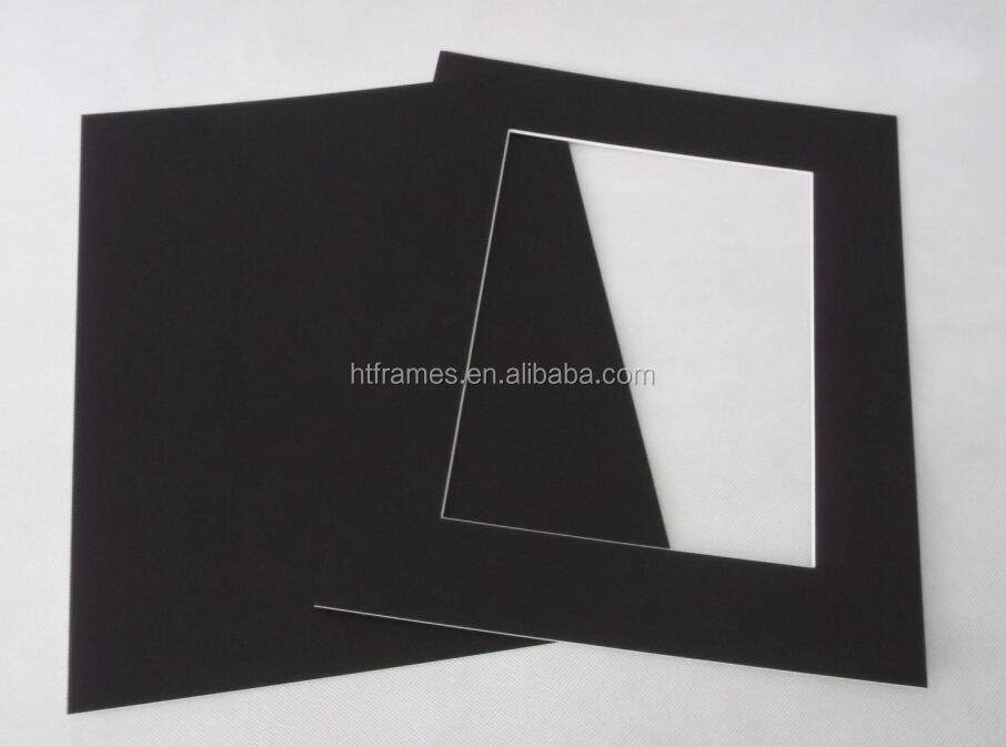 High Quality 2 Mm Thick Mount Board With Bevel Cut Opening