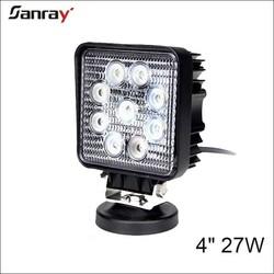 4 inch led work light 27w car work light spot/flood/combo/motorcycle tractor truck trailer