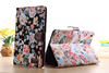Floral PU Leather Case for iPad Mini 2 with Stand and Crad holder
