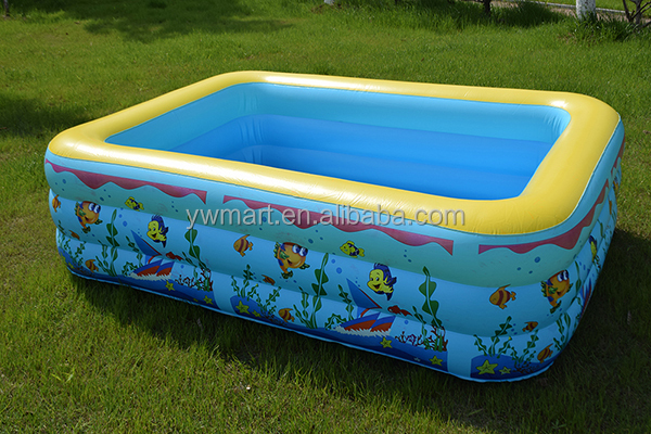 Best Selling Kids Plastic Swimming Pool Hard Inflatable