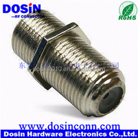 3GHz High Performance F81 F Female to Female Connector nickel