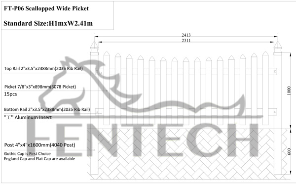 High quality fashion pvc fence dog kennel factory price