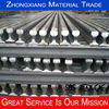 ASTM standard ASCE75 steel railroad rails can be customized for you