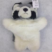 Raccoon stuffed plush hand puppet