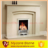high quality insert marble fireplace surround, stone fireplace mantel