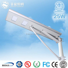 easy installation led street light 25W solar power saving street lighting