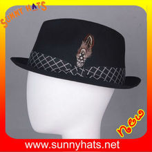 New style 100% wool felt mens hats wholesale by factory