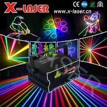 1W RGB ILDA Animation Laser Light/logo show projector/ Outdoor advertising machine