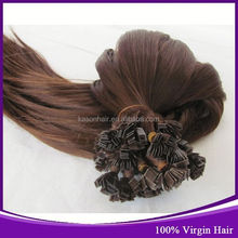 Ali Baba Kason Hair Company Top Grade 6A Brazilian Deep Curly Flat Tip Hair Weft Blonde Double Drawn