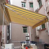 Waterproof electric retractable balcony awnings