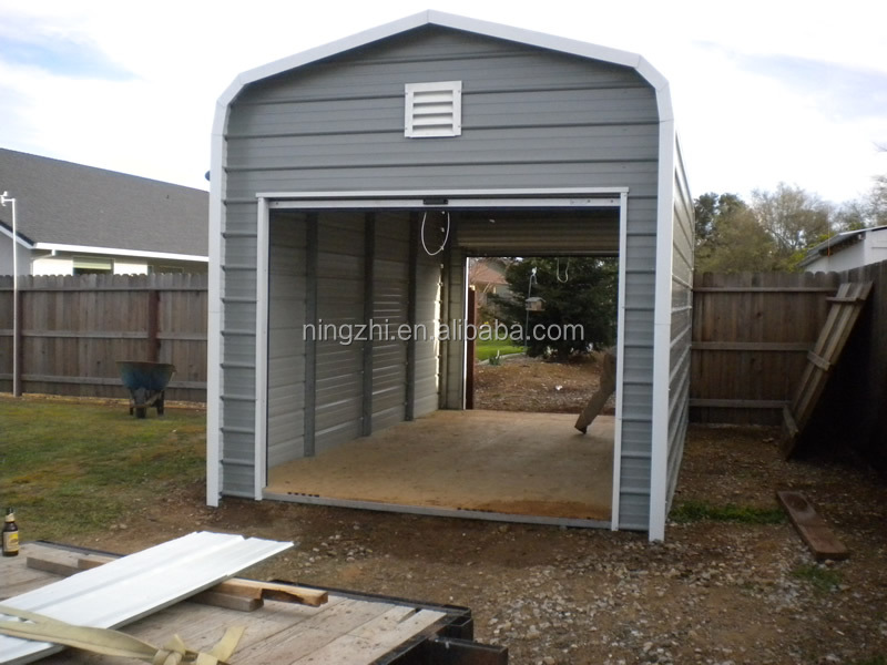Flat Roof Storage : Outdoor storage shed flat roof garage pent