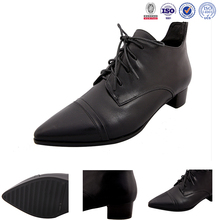Designer shoes black classic British wind casual shoes FOR Woman