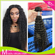 Small curl 24inch malaysian kinky curly hair