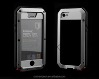 Waterproof Shockproof Dustproof Metalic Silicone Mobile Case For Iphone 5 5s 6 6s 6plus CO-WPF-109