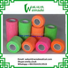 ce/fda/iso wholesale China Neon PRINTING Cohesive Elastic Wraps