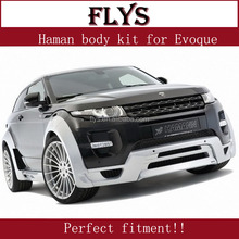 Nice facelift! Haman body kit for Range rove rover Evoque. Fiber glass material! Perfect fitment!!!
