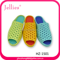 new design durable women new pcu slippers jelly slippers manufactures pcu material for shoes