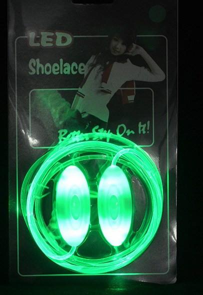 Неоновые шнурки для обуви New 100Pairs 6/, LED shoelace