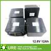12.8V 12Ah lithium iron phosphate battery pack with high quality