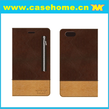 Stitching Craft PU Flip Leather Case for ZTE V5 Max