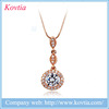 Yiwu futian market 18k gold necklace design cheap women accessories snap jewelry 2015