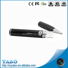 Custom Degin Camera Pen 1.3 mp mini camera worlds smallest hd digital video camera