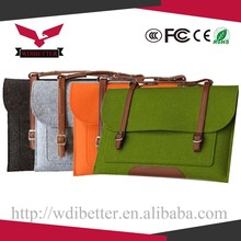 11 13 15 Inch Leather Laptop Sleeve For Macbook Pro Air