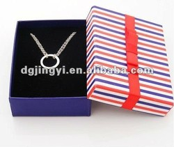 Small Colorful Jewelry Gift Boxes for Necklace Wholesale made in China