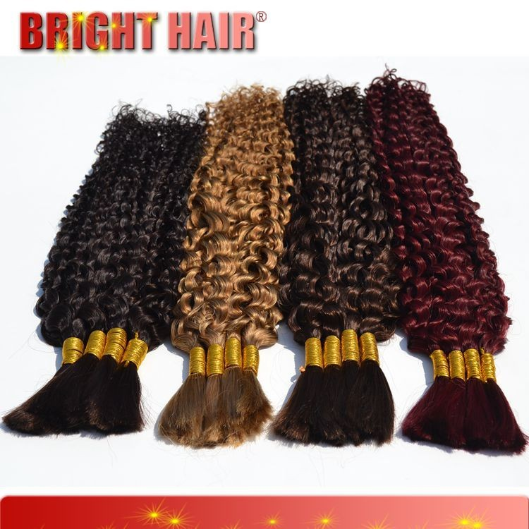 Virgin Remy Hot Sale kinky hair human hair Crochet Hair Extension