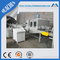 Galvanized Color Stone Chip Coated Metal Roof Tlie Making Machine