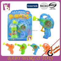 2015 New Arrived transparent sea animals manul bubble gun ,soap bubble toy, flare gun Disney Audit Factory