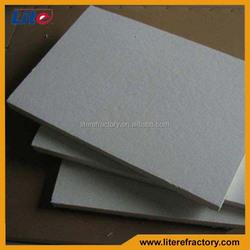 High Temperature Aluminium Silicate Ceramic Fiber Insulation Light Weight Fire Resistant Board