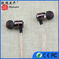 black cool and trendy earphone headset with directional microphones