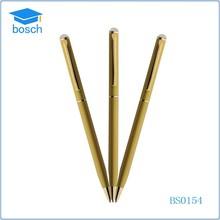 Cheap metal ball pen for hotel promotion cross pen refills
